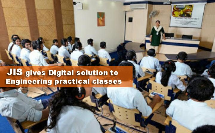 JIS gives Digital solution to Engineering practical classes