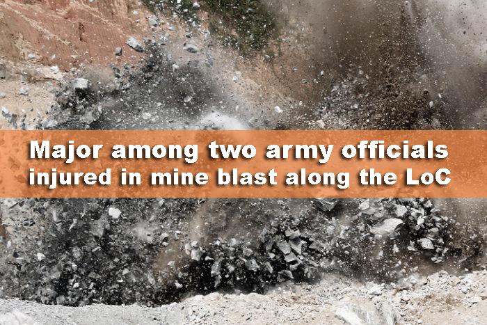 কাশ্মীরে মাইন বিস্ফোরণে মেজরসহ আহত দুই সেনা