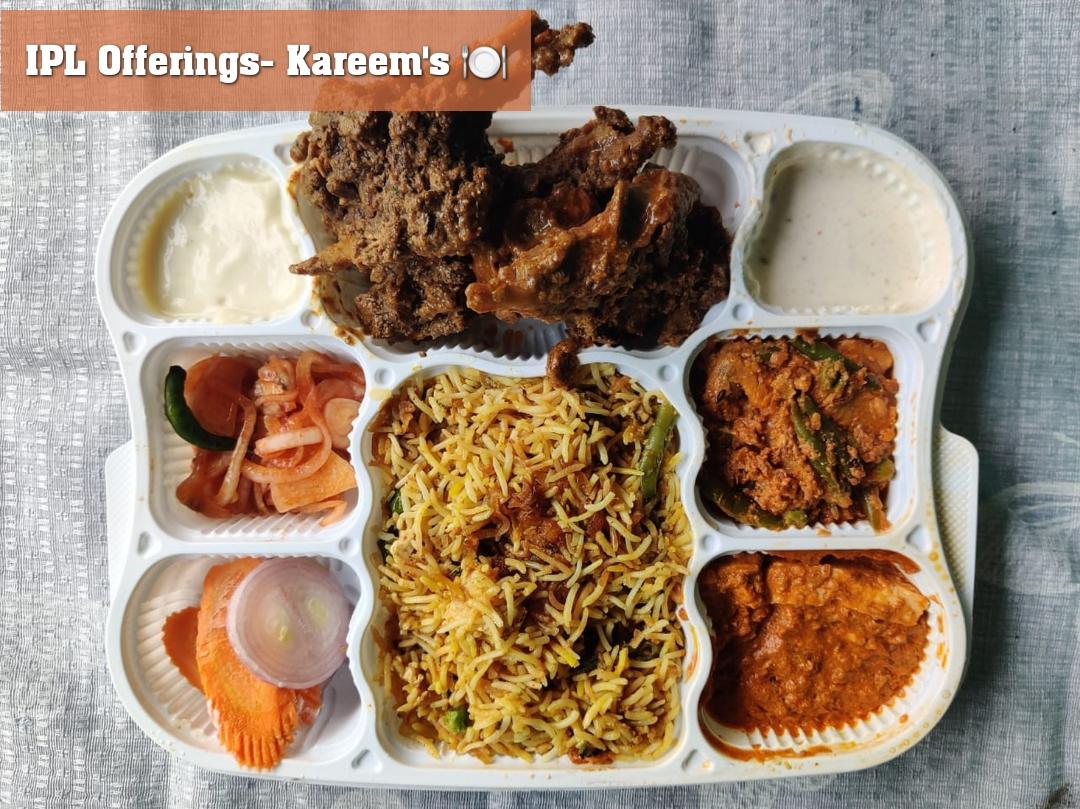IPL Offerings- Kareem's 🍽️
