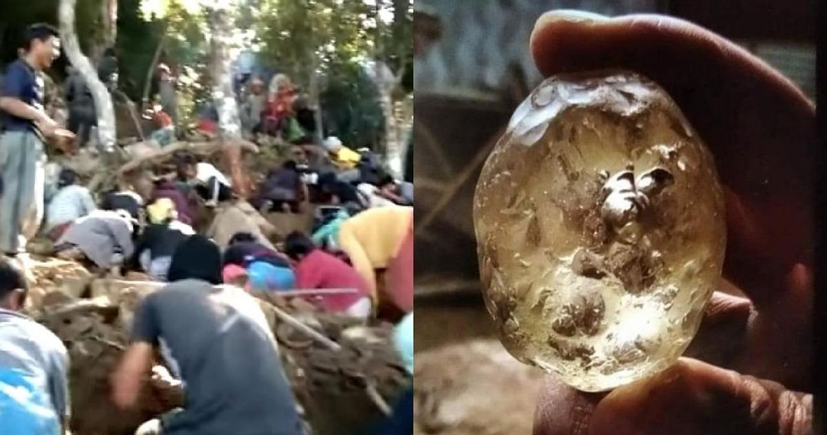 নাগাল্যান্ডের প্রত্যন্ত গ্রামে মাটি খুঁড়লেই উঠে আসছে হীরের টুকরো