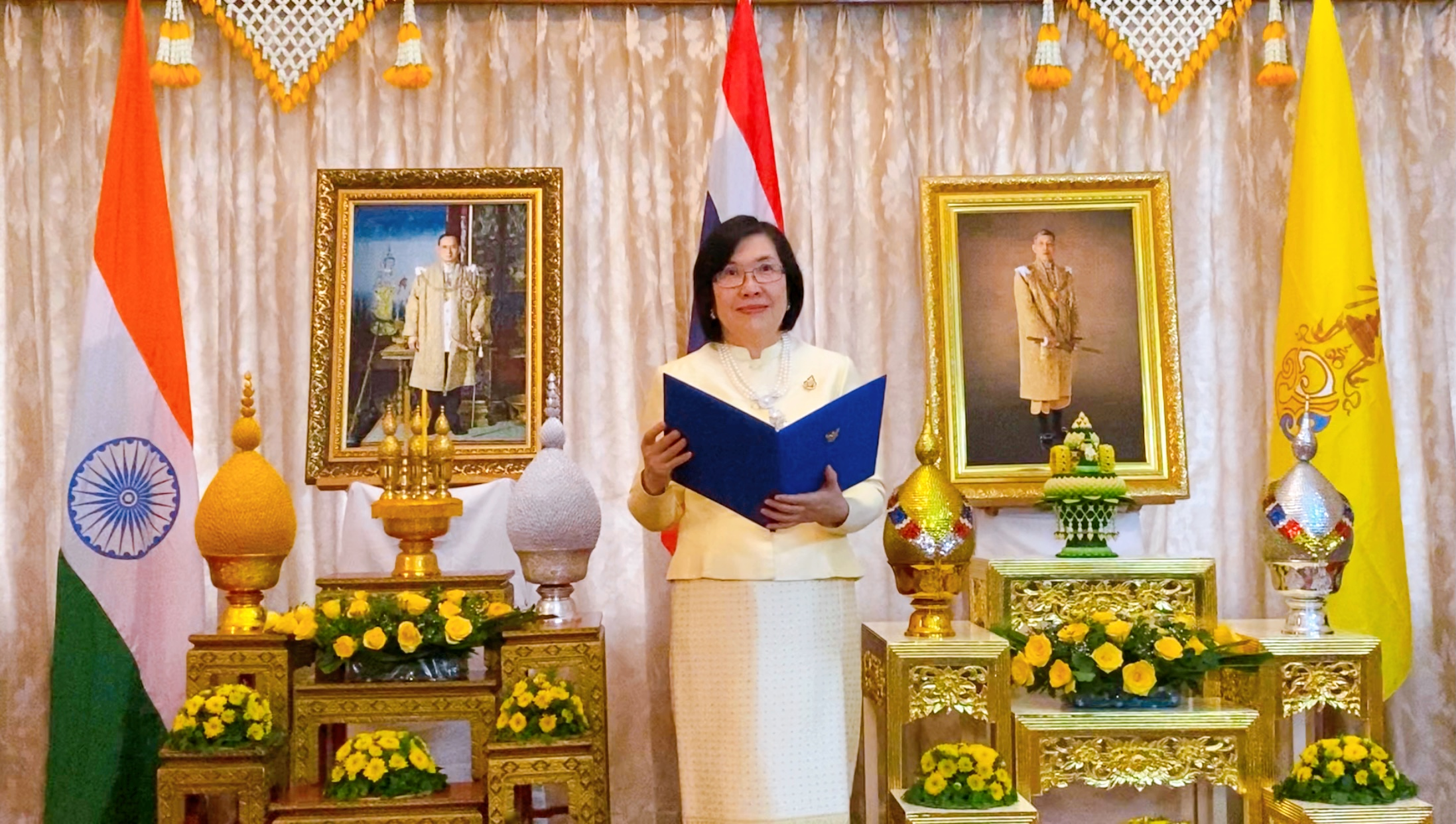 Consul-General of Thailand to Kolkata delivered remarks on the occasion of the National Day of the Kingdom of Thailand🇹🇭