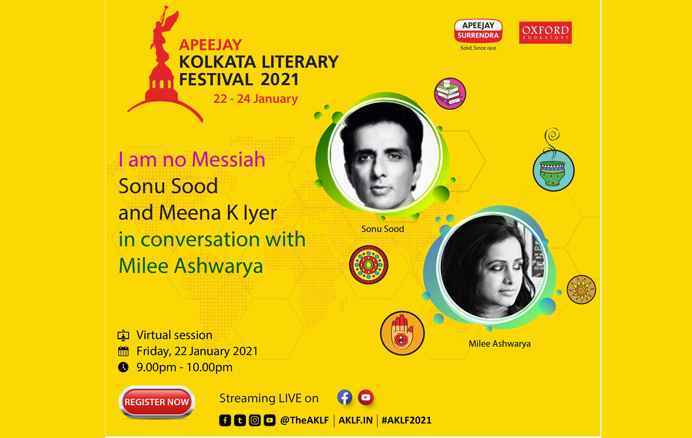 People's Actor Sonu Sood comes to Apeejay Kolkata Literary Festival 2021