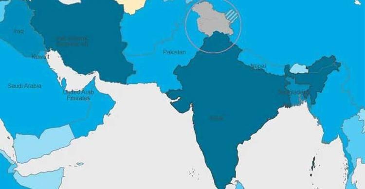 ওয়েবসাইটে ভারতের ভুল মানচিত্র, বিতর্কে WHO
