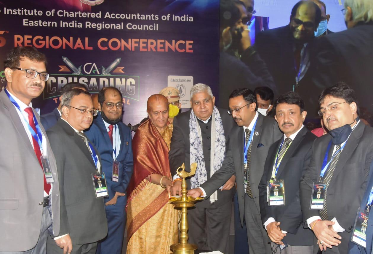 45th Regional Conference organized by Institute of Chartered Accountants of India (ICAI) & EIRCC