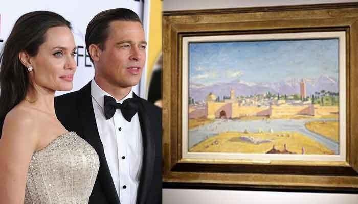 অ্যাঞ্জেলিনা বিক্রি করতে চলেছেন উইনস্টন চার্চিলের আঁকা ছবি