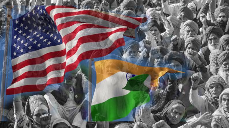 ভারতের কৃষি আইনকে সমর্থন মার্কিন যুক্তরাষ্ট্রের 🇺🇸