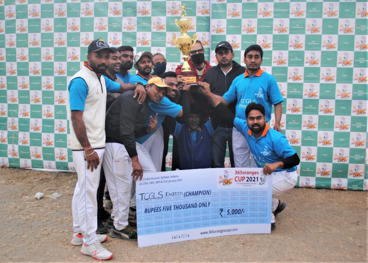 """365 Oranges Cup 2021"" organises one of the biggest corporate cricket tournaments in Kolkata"