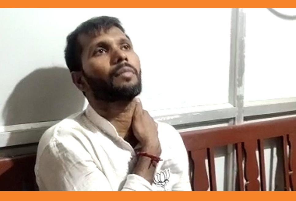 'আক্রান্ত' হলেন বিজেপি প্রার্থী তথা প্রাক্তন ক্রিকেটার অশোক দিন্দা
