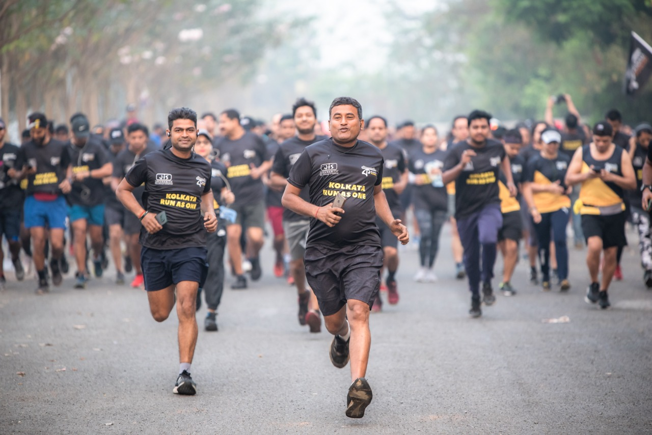 "JIS Group supports Kolkata Runners' initiative ""Kolkata Run as One"""