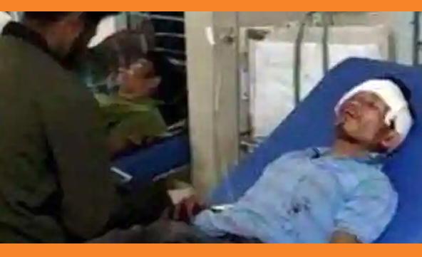 জলপাইগুড়িতে বিজেপি কর্মীর কান কেটে নেয়ার অভিযোগ তৃণমূলের বিরুদ্ধে