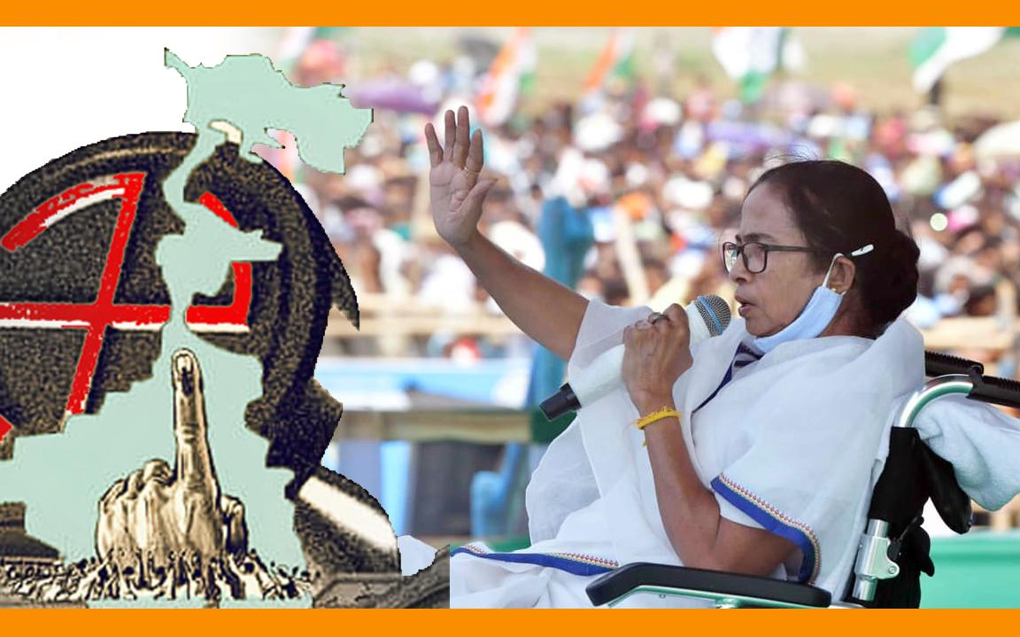 ঊর্ধ্বমুখী সংক্রমণ, নির্বাচনি জনসভা বাতিল করলেন মমতা বন্দ্যোপাধ্যায়