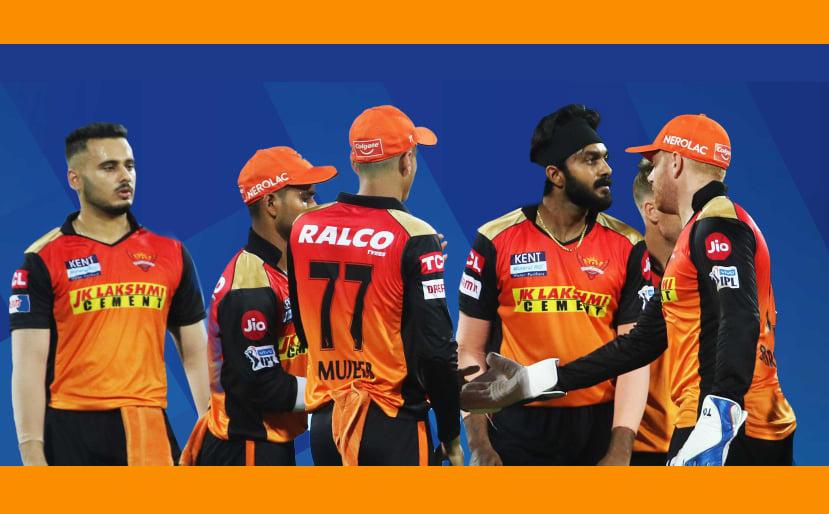 🏏 IPL 2021 পর পর তিন বার হারের সম্মুখীন সানরাইজার্স হায়দ্রাবাদ