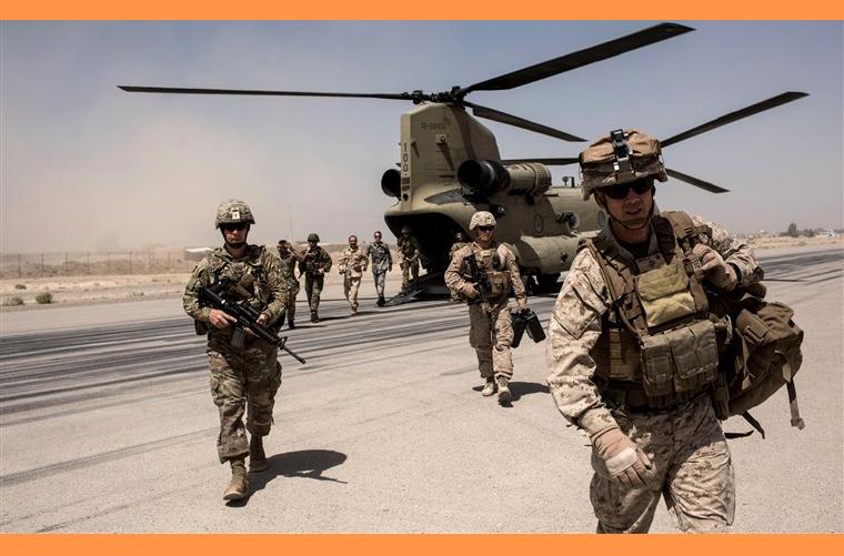 🇦🇫 আফগানিস্তানে শুরু মার্কিন সৈন্য প্রত্যাহার
