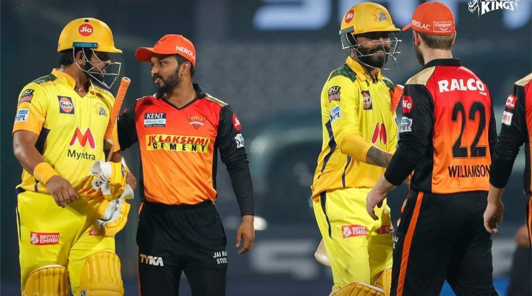 IPL 2021 🏏 ৭ উইকেটে SRH কে হারিয়ে পয়েন্ট টেবিলের শীর্ষে CSK