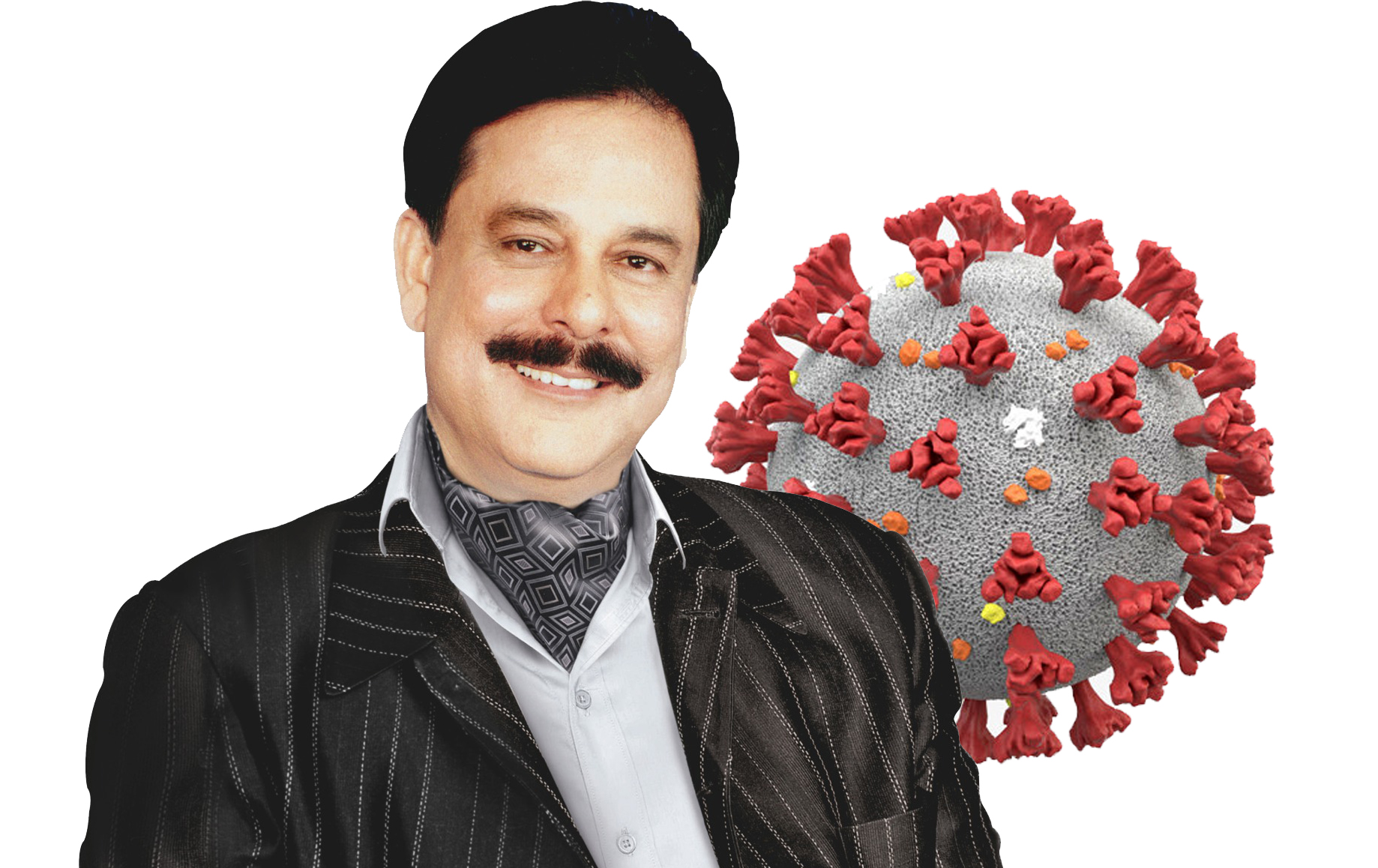 Saharasri Subrata Roy Sahara tests Covid 19 positive
