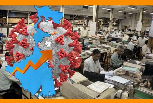 করোনার জেরে ৫০% হাজিরার নির্দেশ সরকারী দপ্তরে