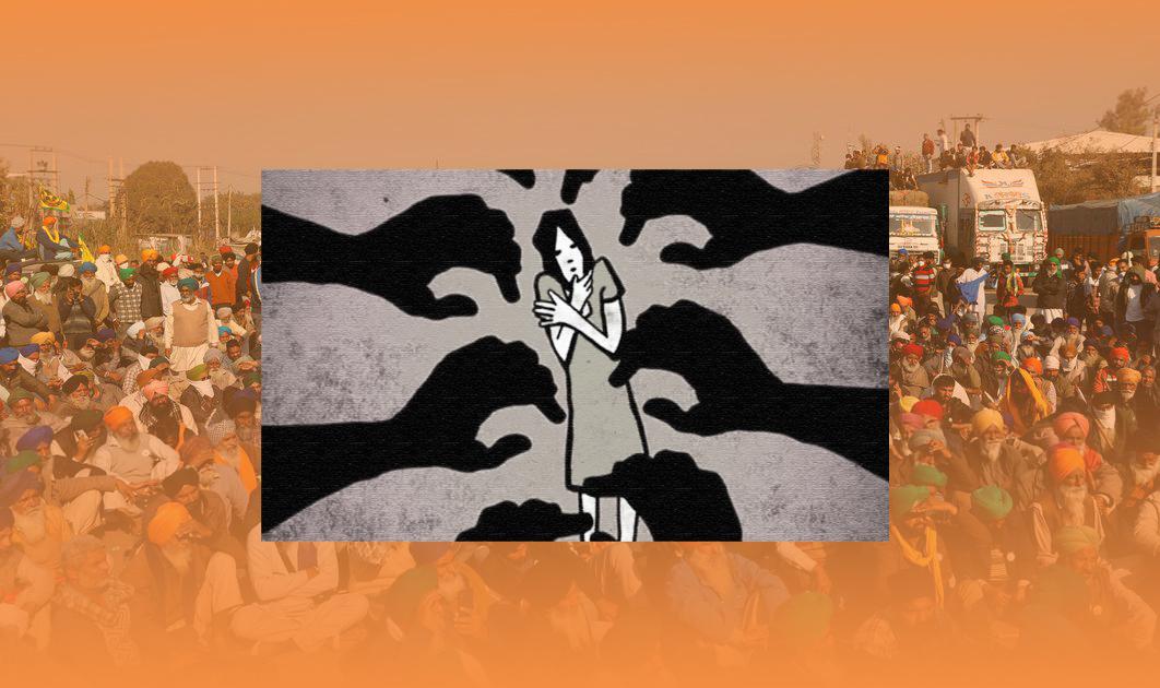 টিকরি সীমান্তে কৃষক আন্দোলনে যোগ দিতে যাওয়া তরুণীকে গণধর্ষণ
