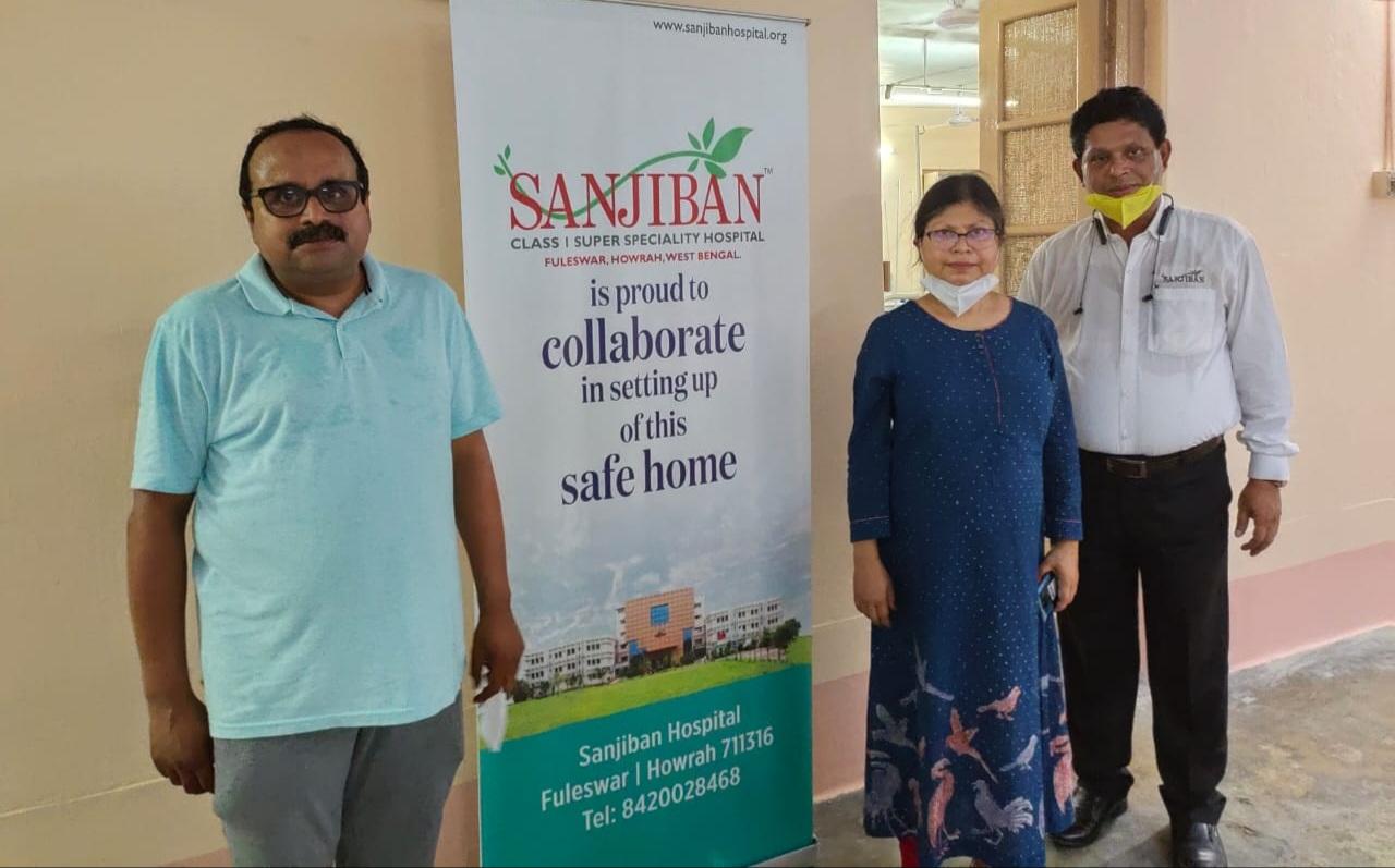 Sanjiban provides infrastructural support for safe home at Narenrapur Ramakrishna Mission Ashrama