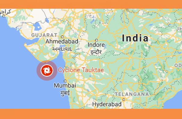 ১৮৫ কিলোমিটার বেগে গুজরাট উপকূলে আছড়ে পড়বে 🌪️ ঘূর্ণিঝড় 'তাওকতে'