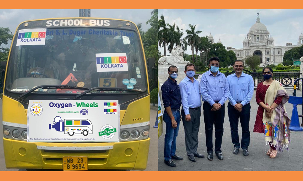 """Oxygen on Wheels"" Bus launched for under privileged patients in Kolkata"