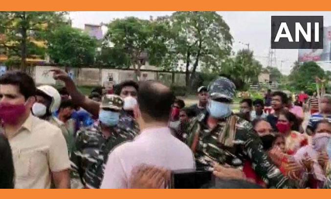 যাদবপুরে জাতীয় মানবধিকার কমিশনের সদস্যদের উপর হামলার অভিযোগ