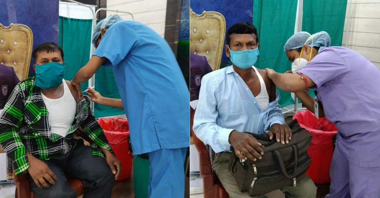 Bengal Peerless Housing Development Company provides Vaccination for Construction workers
