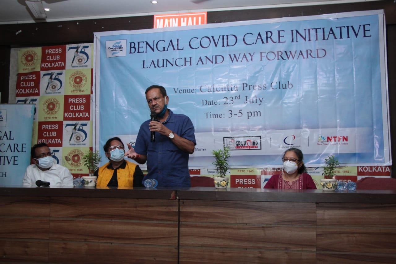 Bengal Covid Care initiative felicitates 50 NGOs of West Bengal