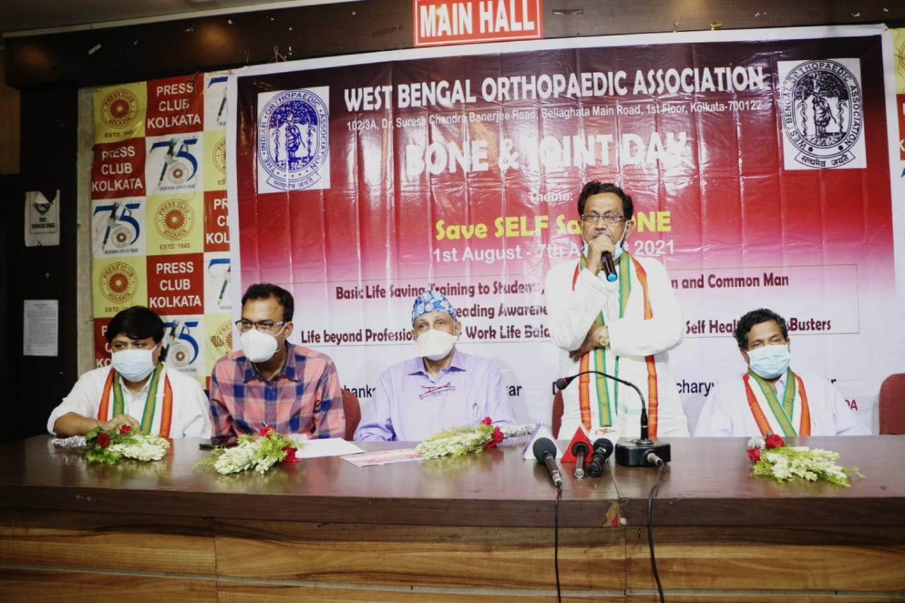 A Weeklong Awareness campaign to observe 'National Bone and Joint Day' by   West Bengal Orthopaedic Association