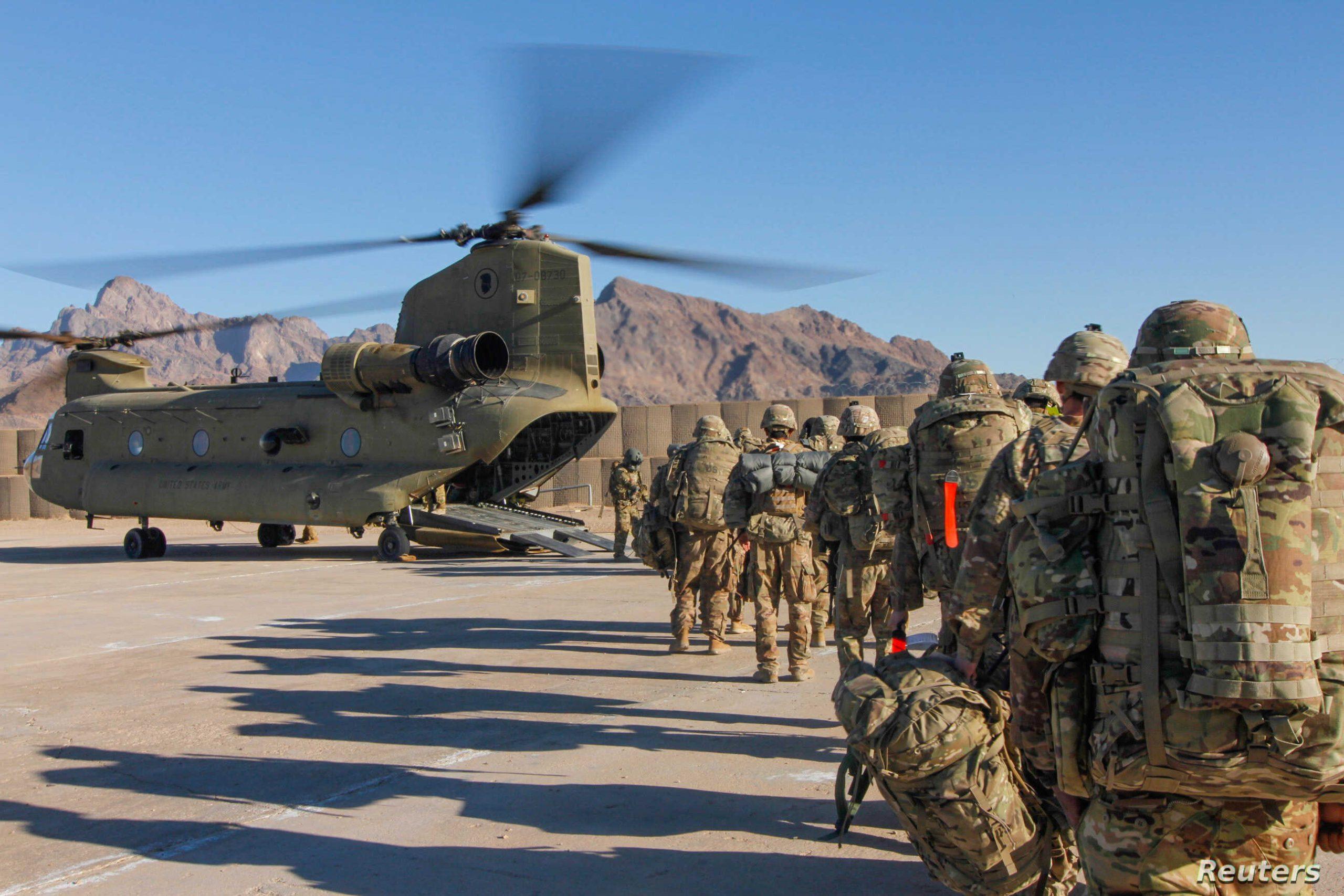 মার্কিন সেনামুক্ত আফগানিস্তান