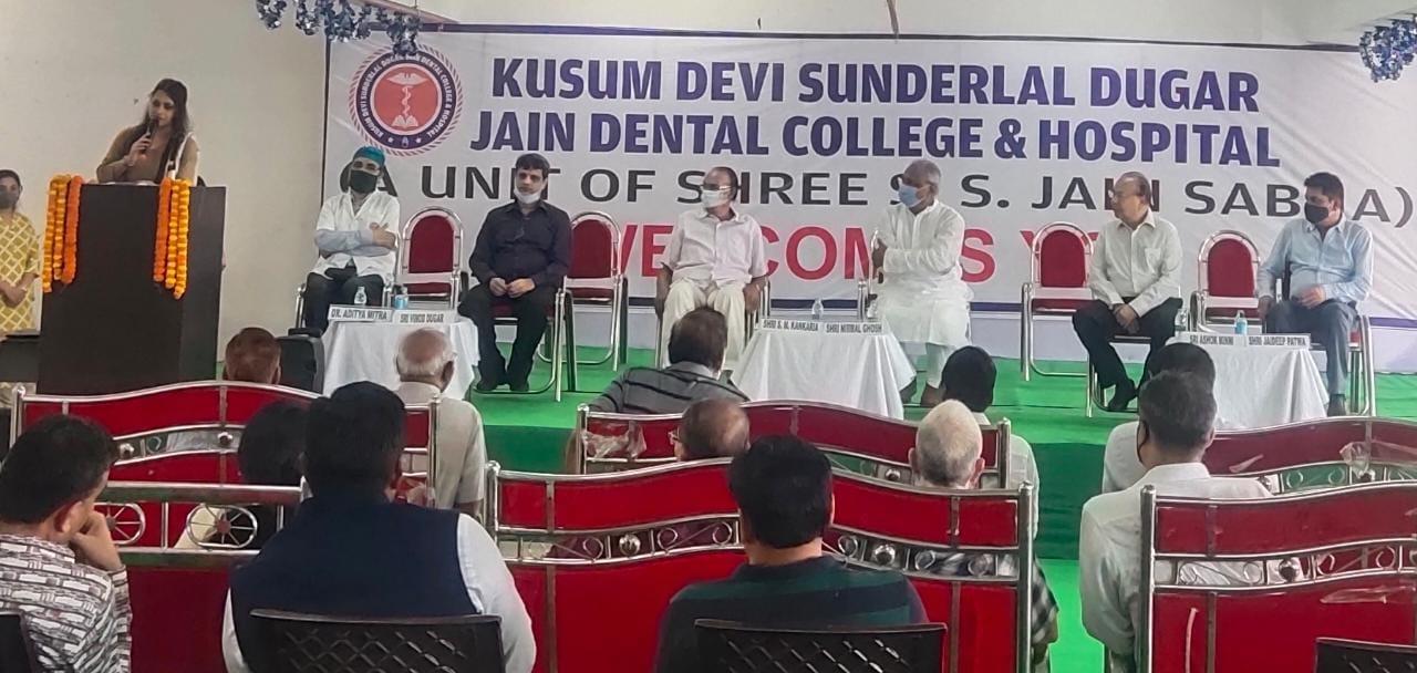Kusum Devi Sunderlal Jain Dental College & Hospital opened its Pathology today for economically backward people